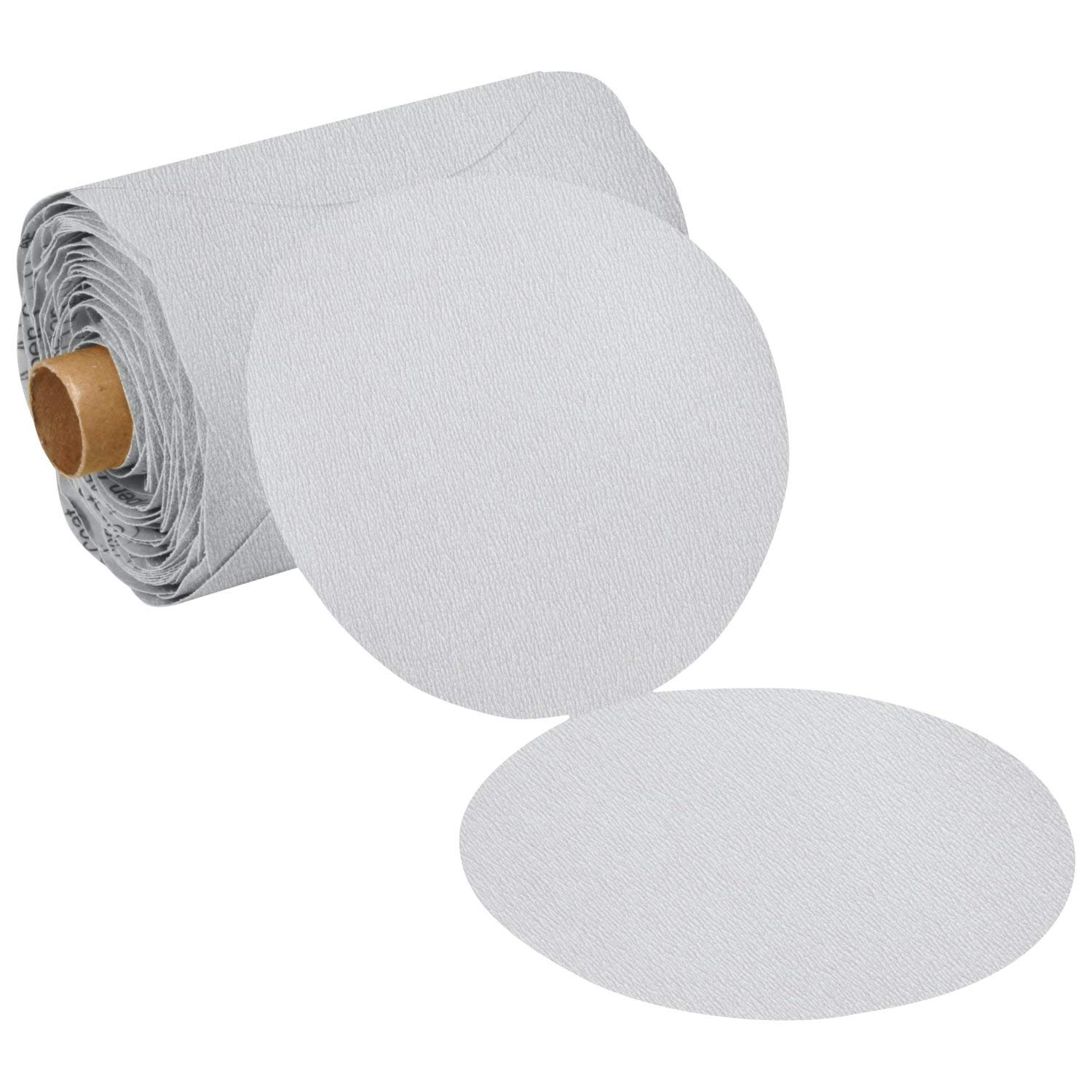 3M Stikit Paper Disc Roll 426U, 320 A-weight, 5 in x NH, Die 500X 71fF0gOejxL