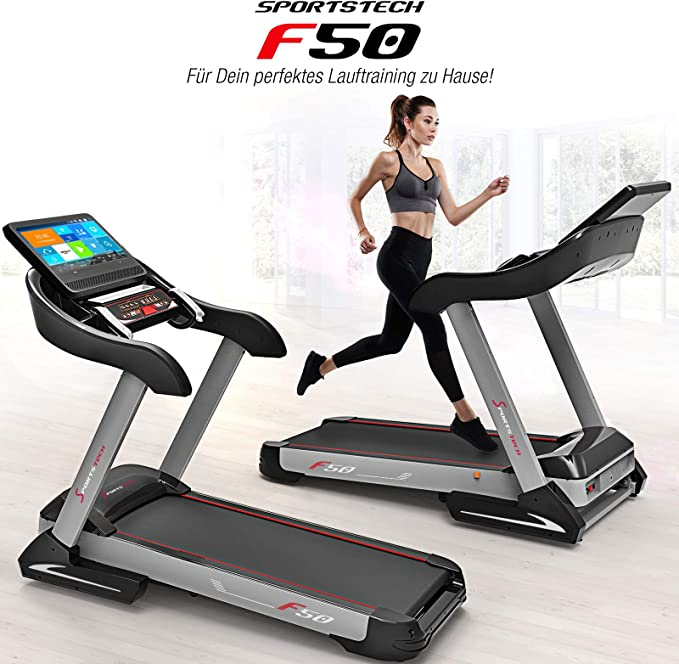 Sportstech F50 - Cinta de correr profesional con gran pantalla ...