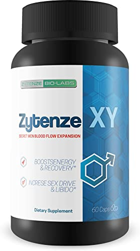 Zytenze XY – Male Expansion Formula Testosterone Support – Secret Men Blood Flow Expansion – Use Zytenz e to Help Boost Male Energy, Recovery, Drive, Libido, Circulation, Nutrient Delivery
