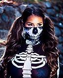 iHeartRaves Skeleton X-Ray Skull Multi-functional