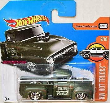 2017 Hot Wheels Hw Hot Trucks Custom 56 Ford Truck Primer Army