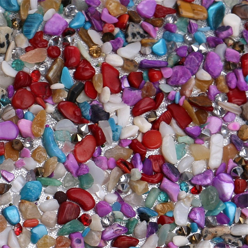 Orfila Frauen Clutches aus Hochzeitskette Hochzeitskette Hochzeitskette Schulter Handtasche Bunte Steinbeutel Kleiderabendsparty B07FTDSR17 Clutches Exportieren 917336