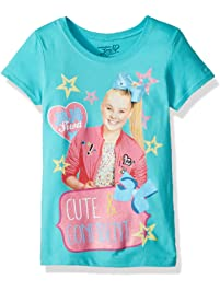 Jojo Siwa Girls  Little Cute Short Sleeve T-Shirt 34a65579a978