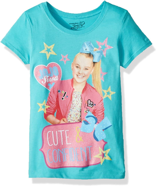 Jojo Siwa Girls Sequin Short Sleeve T-Shirt