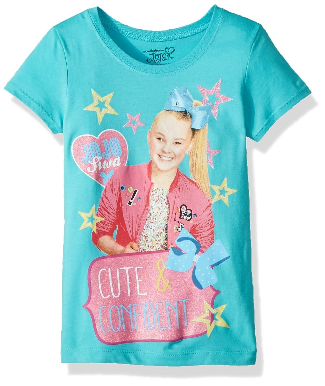 1ae6662e18f95 Amazon.com: Jojo Siwa Girls' Little Cute Short Sleeve T-Shirt: Clothing