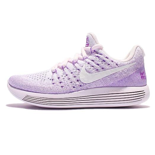 Nike Women's Wmns LunarEpic Low Flyknit 2 IWD, Light Violet/White, ...