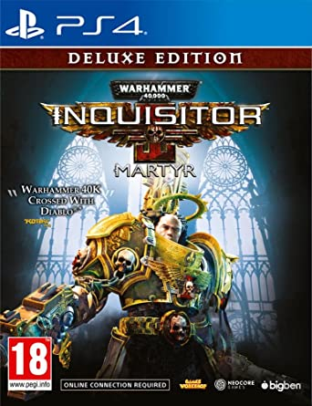 Warhammer 40k Inquisitor Martyr Deluxe Edition Playstation 4 Ml