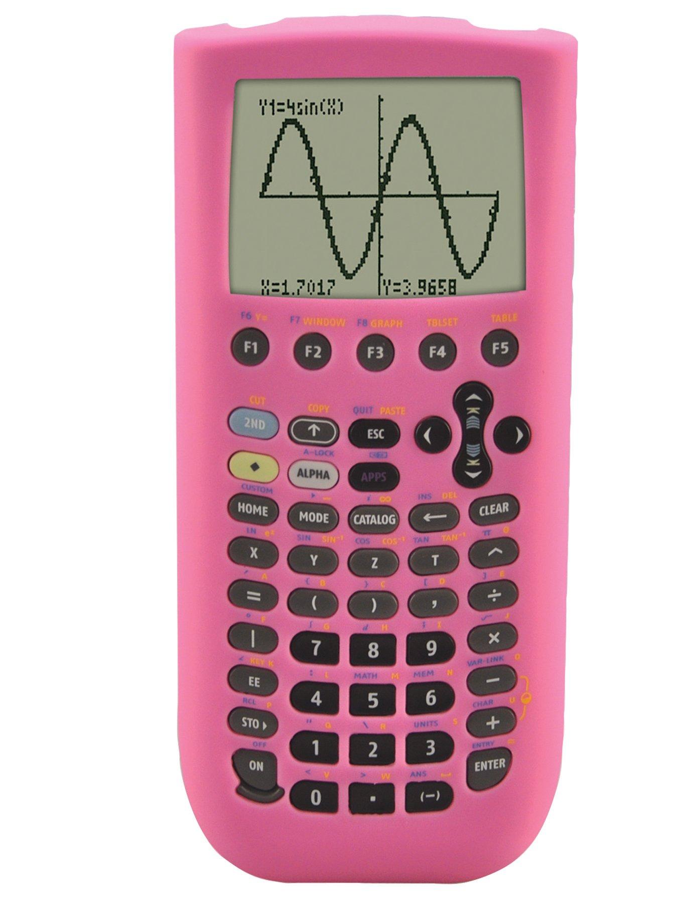 Guerrilla Silicone Case for Texas Instruments TI-89 Titanium Graphing Calculator, Pink
