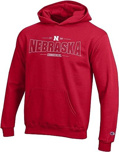 NCAA University Nebraska Pullover Hoodie Hooded jacket