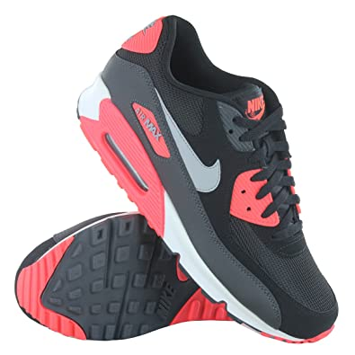 first rate 3e8a7 c7a11 Nike Air Max 90 Essential Black Grey Mens Trainers Size 8 UK  Amazon.co.uk   Shoes   Bags