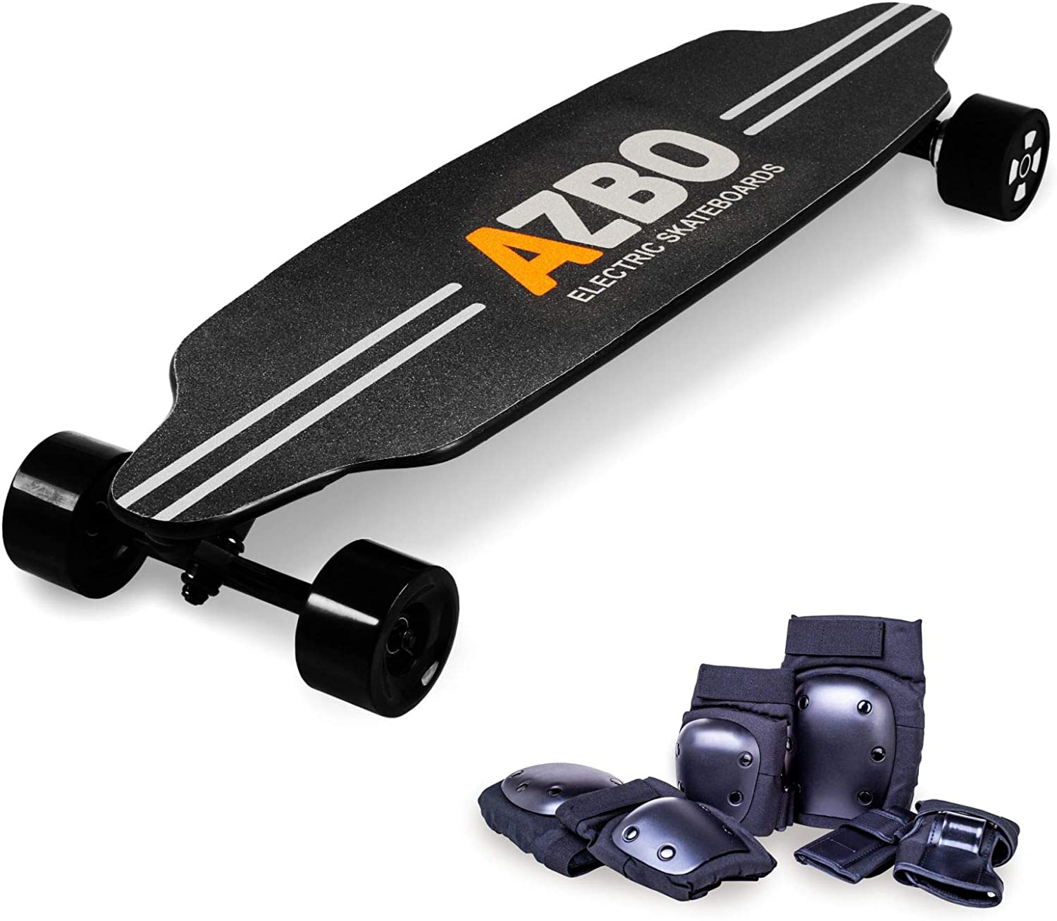 best electric longboards: AZBO Electric Skateboard Longboard