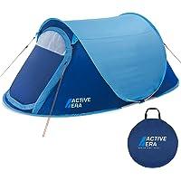 Active Era™ Grande Tente Instantanée pour Deux Personnes - Imperméable, Ventilée et Durable