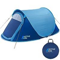 Active Era Zelt, groß, für 2 Personen, Pop-up-Zelt, Wurfzelt, wasserbeständig, belüftet und haltbar