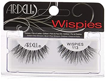 bef4a12ab99 Amazon.com : Ardell Fashion Lashes Pair - 113 (Pack of 4) : Fake Eyelashes  And Adhesives : Beauty