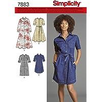 Burda Simplicity s7883.u5patrón de Costura para túnicas/Blusa Papel