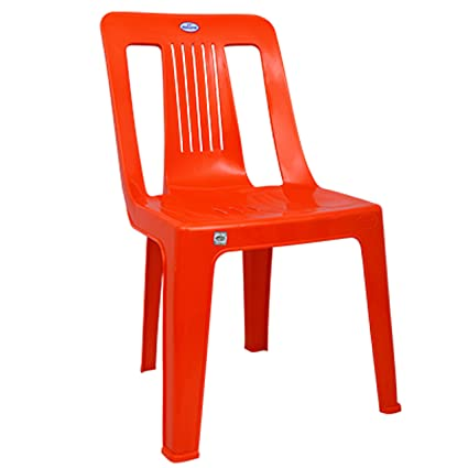 Vv National Chairs Mbc Armless Pack Of 4 Vv Rock 25 Color Red