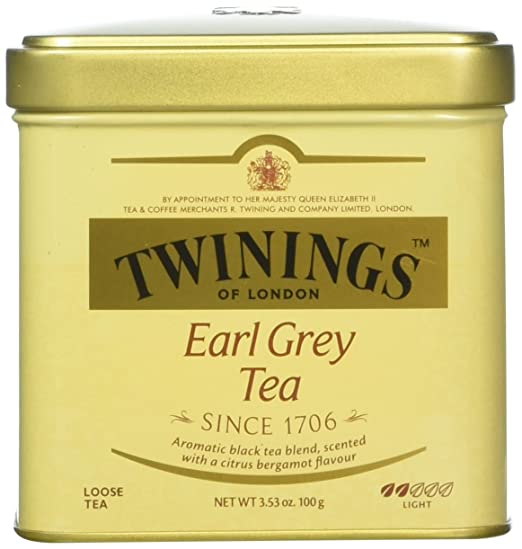 Twinings Classics Earl Grey Tea Loose Tea 3.53 oz Tin - Pack of 3