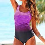ASERTY Womens One-Piece Swimsuit Swimming Costume