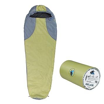 10T Outdoor Equipment 10T Gelar Saco de Dormir de la Momia, Verde, Estándar: Amazon.es: Deportes y aire libre