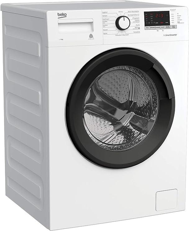 Watersafe+ Wei/ß Mengenautomatik Beko WYAW 714831 LS Waschmaschine Frontlader 16 Programme A+++ 1400 UpM Selbstreinigung