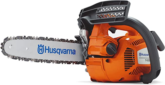 Husqvarna T435 Cilindrada 35,2 cm3 Espada 30 cm Peso 3,4 Kg (sin equipo corte)