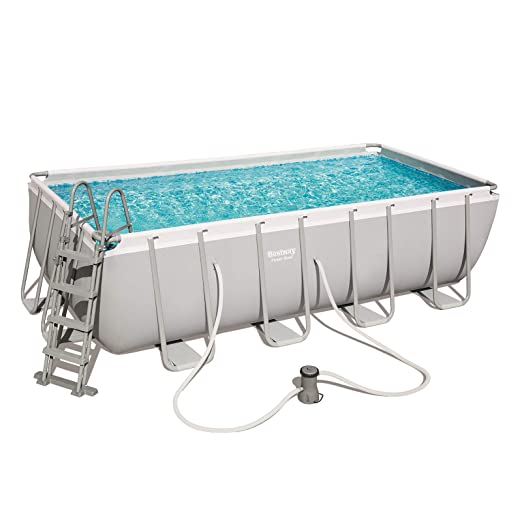 Piscina tubular Bestway rectangular 488X244X122