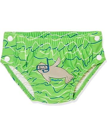 8dae28186 Playshoes UV-Schutz Badewindel Robbe Zum Knöpfen pañal de natación para  Bebés