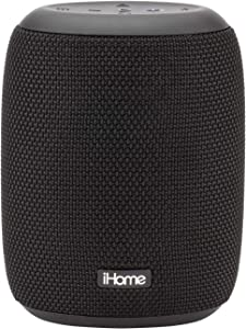 iHome PLAYPRO Portable Bluetooth Speaker - IP67 Waterproof Rechargeable Audio Device, 20hr Battery, Outdoor EQ Mode and Tough Acoustic Weave (Model iBT700B) Black