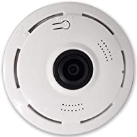 Indoor 360 Degree Wifi Panoramic View Security Camera with Mic Speaker and Night Vision - V380