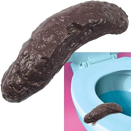 Funny Turd Crap Toilet Practical Joke Realistic Fake Gag Poop Best ES
