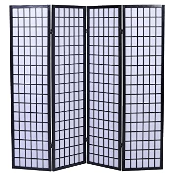 eazygoods tokyo japanese handmade room divider privacy screen wood rh amazon co uk Overstock Room Dividers Room Divider Screens Amazon