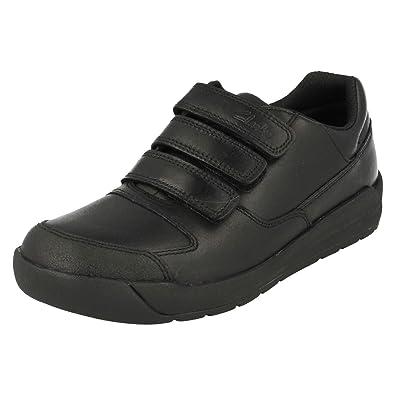 442672b8c Clarks Boys   Flare Lite Jnr Low-Top Sneakers  Amazon.co.uk  Shoes ...