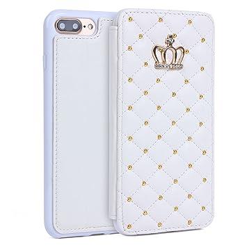 e4acc757e7 Imikoko iPhone 8 Plus iPhone 7 Plus ケース アイフォン7/8プラスカバー case 手帳