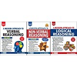 COMBO OF THREE BOOKS A Modern Approach to Verbal , Non-Verbal Reasoning & Logical Reasoning THREE BOOKS FOR 2019 EXAM's