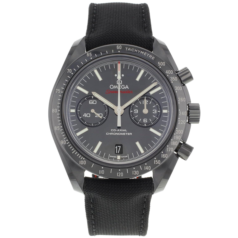 [オメガ] OMEGA 腕時計 スピードマスター ムーンウォッチ コーアクシャル クロノグラフ ダークサイドオブザムーン ブラック 311.92.44.51.01.003 メンズ [並行輸入品] B00NAU13D0