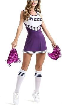 MEYOO Disfraz de Animadora para Mujer, para Vestimenta ...