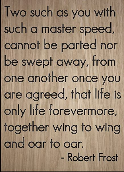 the master speed robert frost