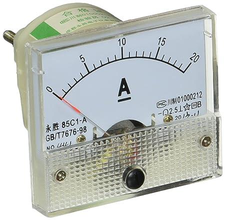 85C1 DC 0-30mA Current Panel Meter Analog Ammeter