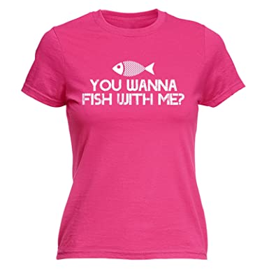 I/'m A Woman I Fish WOMENS Drowning Worms T-SHIRT tee birthday gift funny fishing