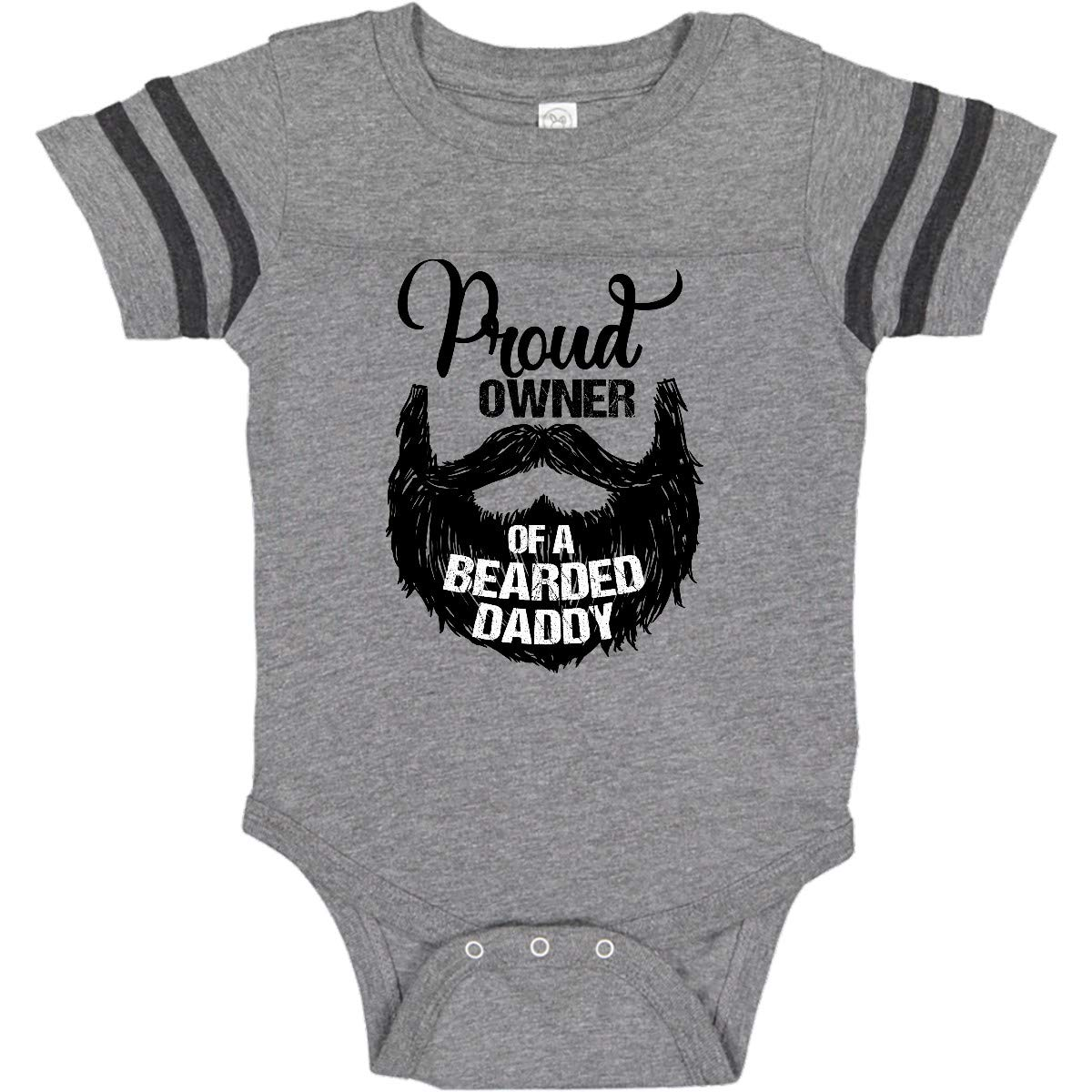 5e73b81129a Amazon.com: inktastic Proud Owner of a Bearded Daddy Infant Creeper:  Clothing