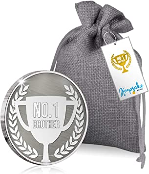 The Koin Club Brother Keepsake Coin Birthday Present Gift for Him