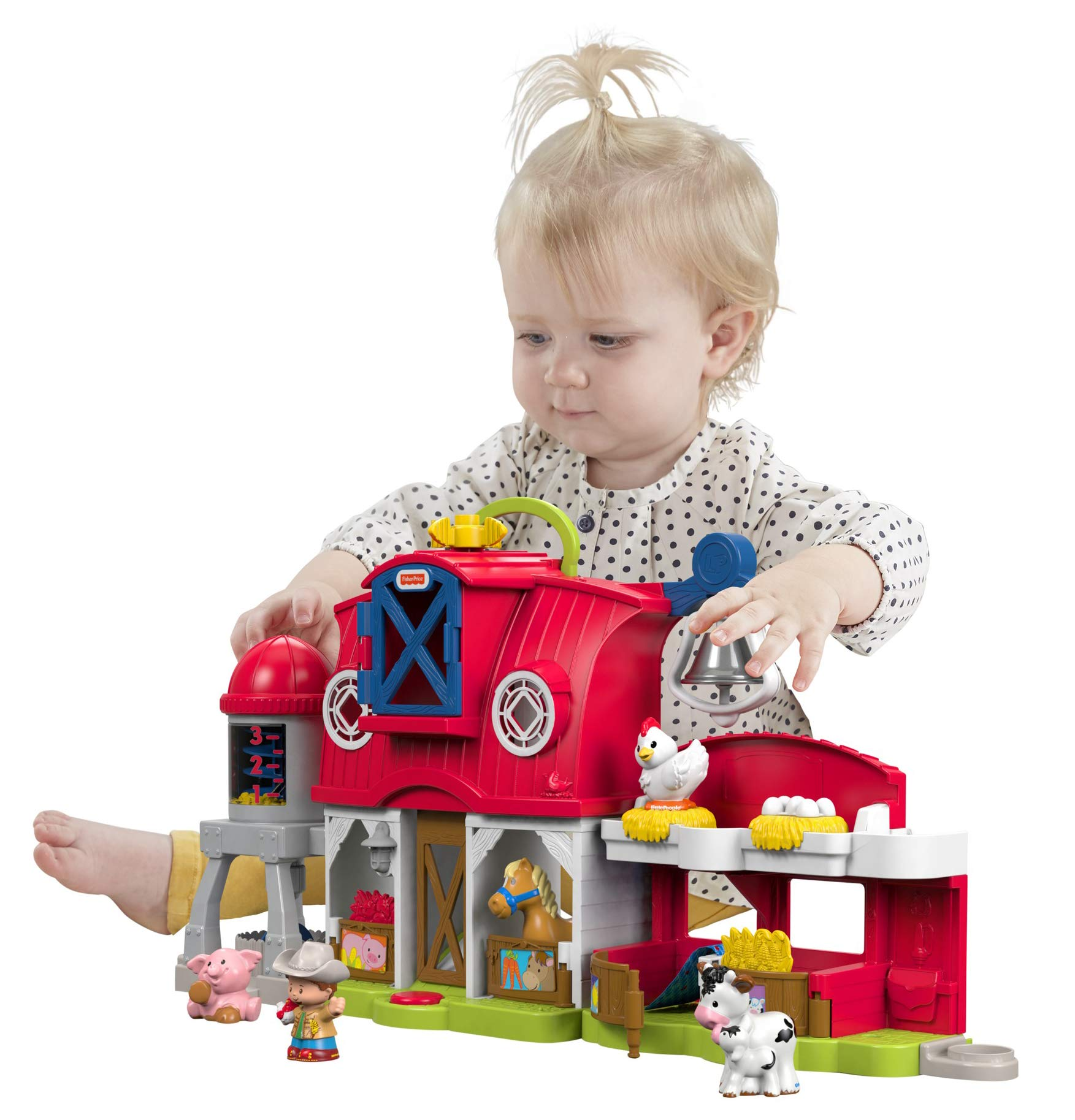 Pricing People: Fisher-Price Little People Caring For Animals Farm Set