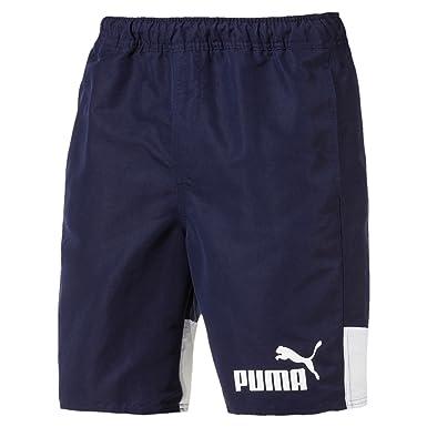 fefbf5a184 Puma Men's Swim Shorts, Shorts Letter, Solid Colors, Cat Logo, S-XXL ...