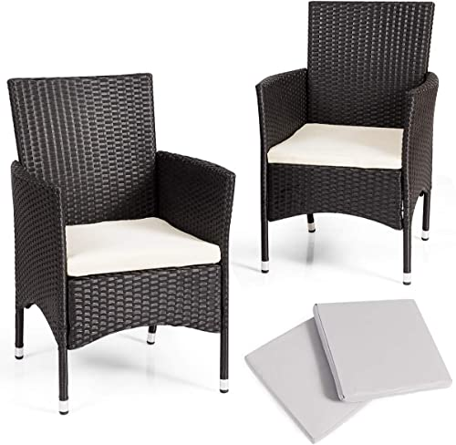 TANGKULA Set of 2 Patio Chair