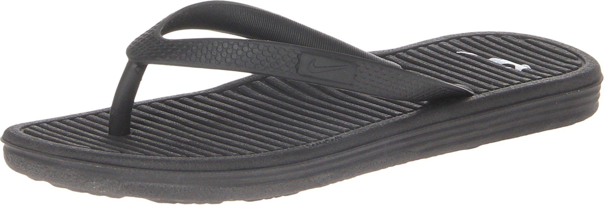 Nike Unisex Child Solarsoft Thong 2 (GS/PS) 11c Black