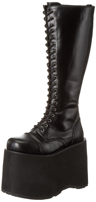 53bf54d4868 Demonia Women s MEGA-602 Hi-Top Slippers Black  Amazon.co.uk  Shoes   Bags