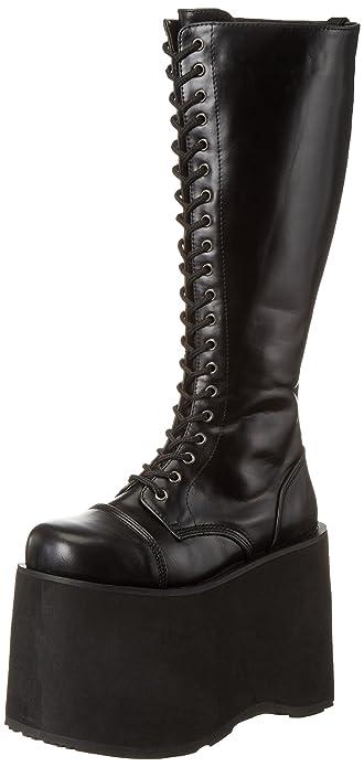 Demonia MEGA-602, Damen High-Top, schwarz - Schwarz(Schwarz) - Größe: EU 40