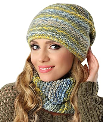 meilleur prix divers design pas mal Pawonex Ladies Knitted Beanie Winter Hat Knitted Hat Winter ...