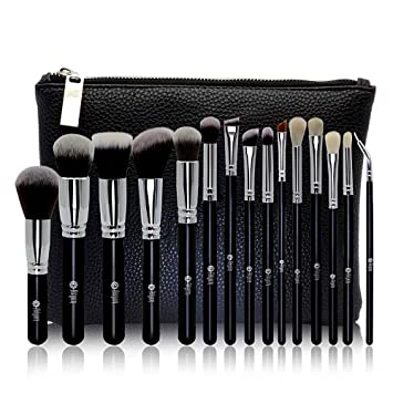 6bbfcc7ab867 FEIYAN Makeup Brush Set Professional Luxury Super Soft Bristles Makeup  Brushes with Kabuki Face...