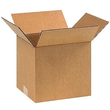 9 x 9 x 8 cajas de transporte LC movimiento embalaje cajas de cartón de correo
